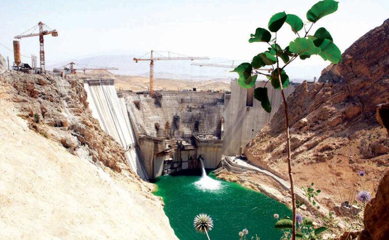 پروژه سد بتنی دو قوسی سلمان فارسی (قیر و کارزین)