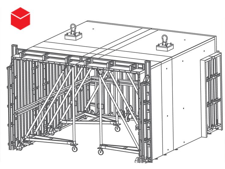 معرفی و کاربرد قالب بندی تونل -1