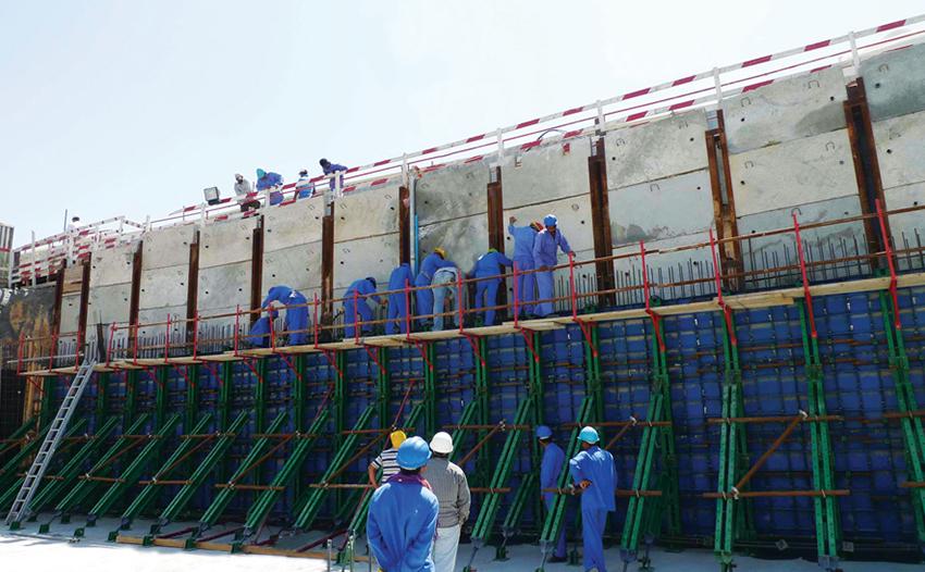 پروژه برج مسکونی 17 طبقه دبی