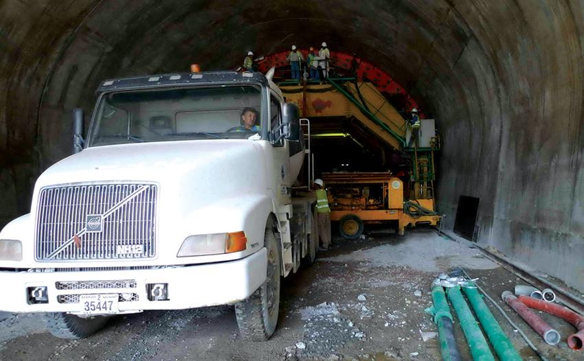 پروژه تونل راه دیفتا – شیص فجیره امارات متحده عربی