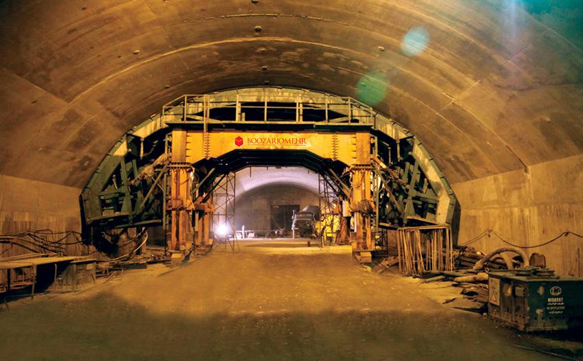 پروژه مترو زیرزمینی تهران