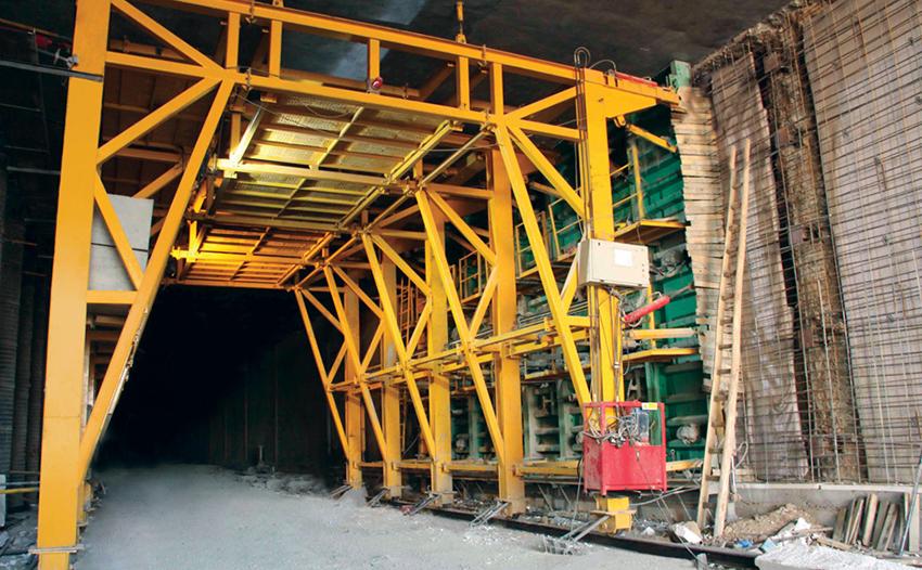 پروژه تونل راه آهن تهران – تبریز