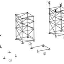 داربست های مدولار مثلثی (پل)
